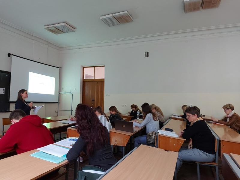Про академічну культуру і доброчесність на відкритому занятті доцента кафедри іноземних мов професійного спрямування
