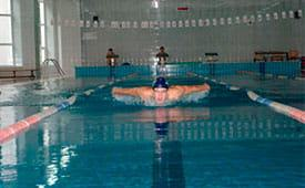 WE HAVE FREE GYM AND SWIMMING POOL FOR OUR STUDENTS