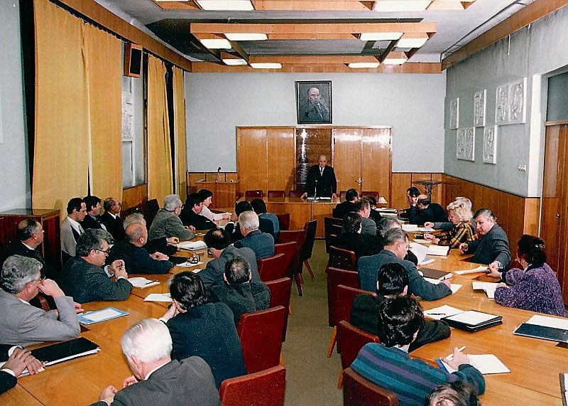 Meeting of the Academic Council